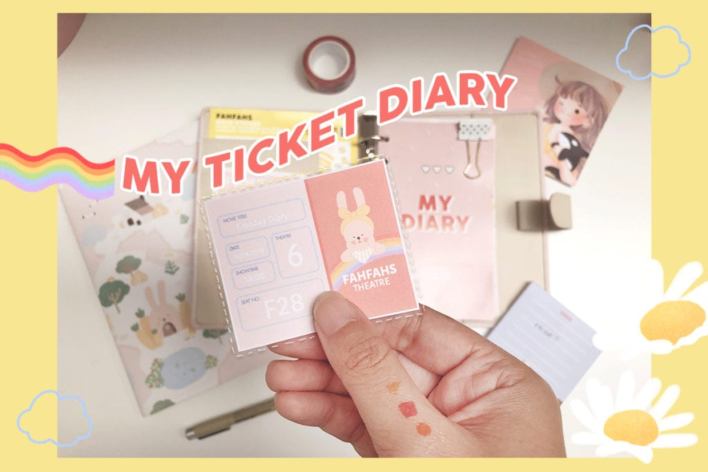 TicketDiary cover