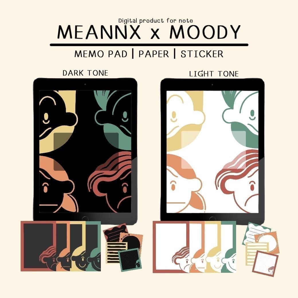 MEANNX | GOODNOTES DIGITAL PACK (MEANNXxMOODY)